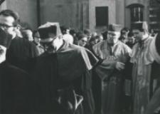 Inauguracja roku akademickiego 1971/72, 24.X : Senat Akademicki
