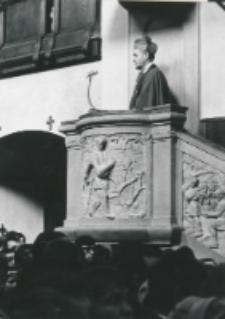 Inauguracja roku akademickiego 1971/72, 24.X : kazanie głosi ks. bp J. Ablewicz