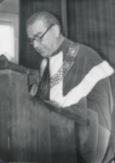 Inauguracja roku akad. 1969/70 : sprawozdanie rektorskie prorektora Zdz. Papierkowskiego.