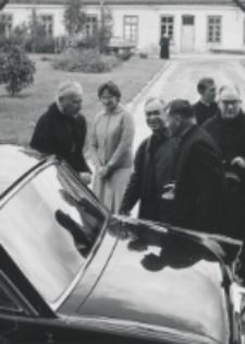 Inauguracja roku akad. 1969/70 : odjazd ks. Stefana kardynała Wyszyńskiego.
