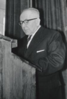Inauguracja roku akad. 1969/70 : w imieniu TP KUL przemawia prezes Kolasa.