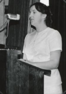 Inauguracja roku akad. 1970/71 : przemówienie imieniem młodzieży akademickiej KUL.