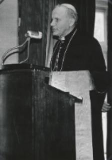 Inauguracja roku akad. 1970/71 : na zakończenie przemówił ks. K. kardynał Wojtyła.