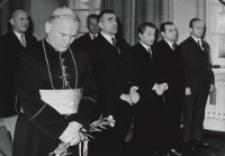 "Inauguracja roku akad. 1970/1971 : ""Gaudeamus igitur, iuvenes dum sumus!""."