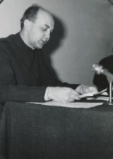 Sympozjum Prawa Naturalnego, 10.IV.1969 r. : referat ks. dra J. Kruciny.