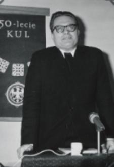 Sympozjum Prawa Naturalnego, 10.IV.1969 r. : referat ks. doc. W. Piwowarskiego.