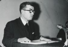 Sympozjum Prawa Naturalnego, 10.IV.1969 r. : referat ks. dra J. Kondzieli.