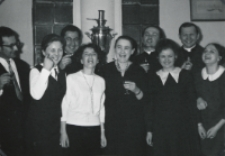 Sympozjum Prawa Naturalnego, 10.IV.1969 r. : najmłodsi delegaci socjologii.