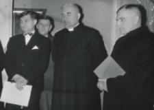 35 lat pracy ks. prof. J. Pastuszki na KUL : w czasie przemówień.
