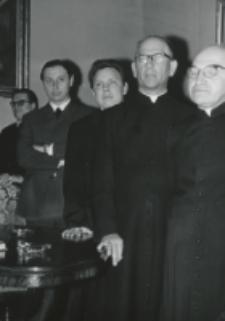 35 lat pracy ks. prof. J. Pastuszki na KUL : uczestnicy uroczystości.