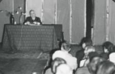 Prof. W. Tatarkiewicz na KUL-u (maj 1970 r.)
