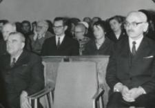 W 30 rocznicę śmierci prof. Cz. Martyniaka, 6.III.1970 r. : w czasie akademii.