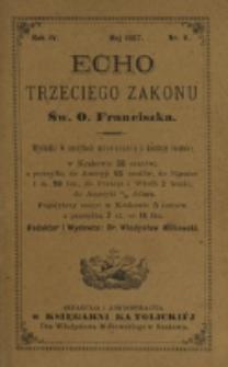 Echo Trzeciego Zakonu Św. o. Franciszka. R. 4, nr 11 (1887)