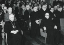 Wizyta msgr. A. Casaroli na KUL-u (2.III.1967) : w czasie powitania.