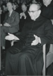 Wizyta msgr. A. Casaroli na KUL-u (2.III.1967) : po odczycie.