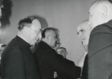 Wizyta msgr. A. Casaroli na KUL-u (2.III.1967) : rozmowy po referacie.