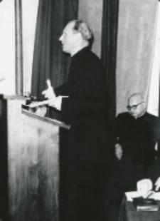 Wykłady dla duchowieństwa w latach 1965-1969 : Referuje ks. A. Bardecki - redaktor Tygodnika Powszechnego.