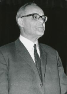 Ks. Prof. A. Rahner na KUL - 1970 r.