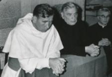 Wykłady dla duchowieństwa 1970 r. : O. rektor M. A. Krąpiec i ks. rektor W. Granat