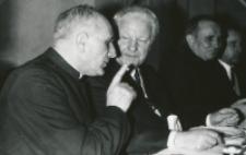 Prof. Leo Gabriel, przewodniczący II Filozoficznego Instytutu Uniwersytetu Wiedeńskiego, na KUL-u 1970 r.