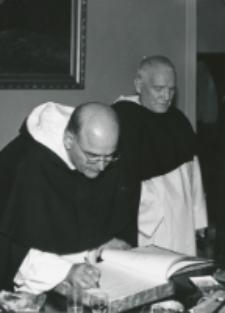 O. A. Fernandez przełożony generalny oo. dominikanów na KULu (wrzesień - 1970) :