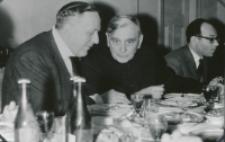 Prof. Leo Gabriel, przewodniczący II Filozoficznego Instytutu Uniwersytetu Wiedeńskiego, na KUL-u 1970 r.: najlepiej się dyskutuje podczas posiłków.