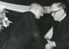 O. P. Arrupe generał oo. jezuitów na KUL-u - 22-23 V 1969.