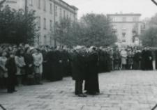 Inauguracja roku akad. 1969/70 : w oczekiwaniu na ks. biskupa.