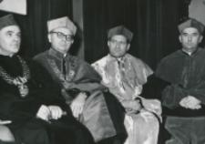 Inauguracja roku akad. 1969/70 : senat.