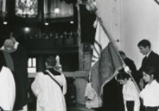 Inauguracja roku akad. 1969/70 : podczas mszy św. w kościele akademickim.