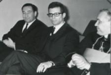 Inauguracja roku akad. 1969/70 : przedstawiciele ambasady USA w Warszawie.