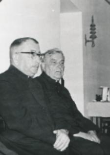 Wykłady dla duchowieństwa w latach 1965-1969 : ks. rektor Wincenty Granat.