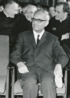 Ks. Prof. A. Rahner na KUL - 1970 r. : Przed Odczytem