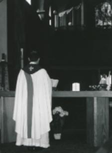 50-lecie Koła Polonistów Studentów KUL : nabożeństwo w kościele akademickim