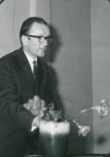 50-lecie Koła Polonistów Studentów KUL 1970 r. : doc. Stefan Sawicki