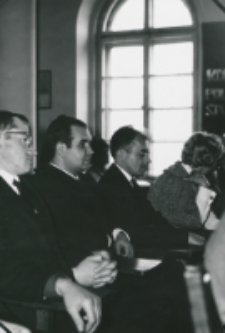 50-lecie Koła Polonistów Studentów KUL 1970 r. : dr Stanisław Fita, dr Marian Maciejewski, red. J. Smosarski
