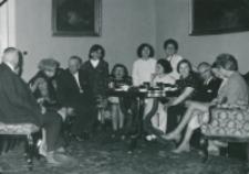50-lecie Koła Polonistów Studentów KUL 1970 r. : zebranie towarzyskie Koła