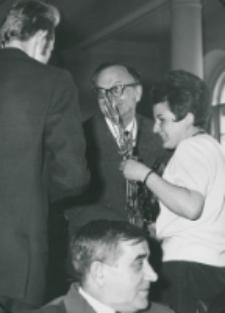 50-lecie Koła Polonistów Studentów KUL 1970 r. : u dołu prof. Tadeusz Brajerski