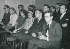 Ogólnopolskie Seminarium Studenckich Kół Naukowych Historyków 1969 r. : audytorium - studenci różnych uczelni Polski