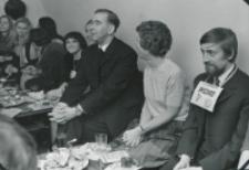 Wieczorek zapoznawczy historyków sztuki, 23 października 1970 r. : z udziałem o. rektora Krąpca