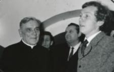 Wystawa plakatu Leszka Mądzika, jesień 1970 r. : kol. Mądzik dalej przemawia