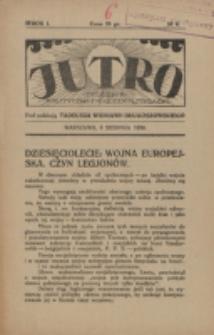 Jutro. R. 1, nr 4 (1924)