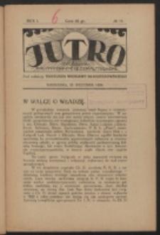 Jutro. R. 1, nr 10 (1924)