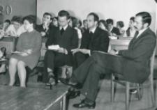 Ogólnopolskie Sympozjum Studenckich Kół Naukowych Psychologów, 1972