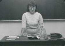 Historycy zagraniczni na KUL-u (listopad 1971) : dr R. Brooke z Uniwersytetu w Londynie