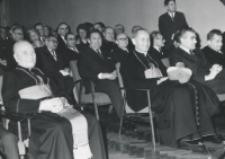 Inauguracja roku akademickiego 1971/72, 24.X : przedstawiciele władz kościelnych i państwowych
