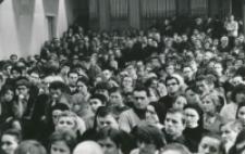 Prof. Władysław Tatarkiewicz na KUL-u, 17.IV.1970 : słuchacze