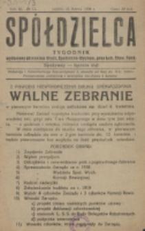 Spółdzielca. R. 3, nr 13 (1919)