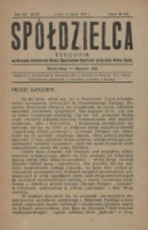 Spółdzielca. R. 3, nr 27 (1919)