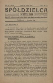 Spółdzielca Lubelski. R. 3, nr 28 (1919)
